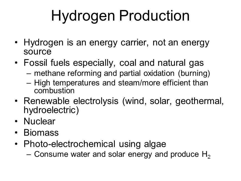 Hydrogen Transport Pipelines High pressure tubes Cryogenic tankers Chemical carriers