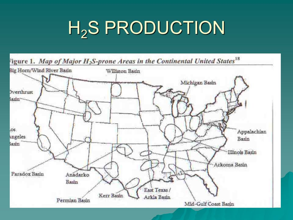 H 2 S PRODUCTION