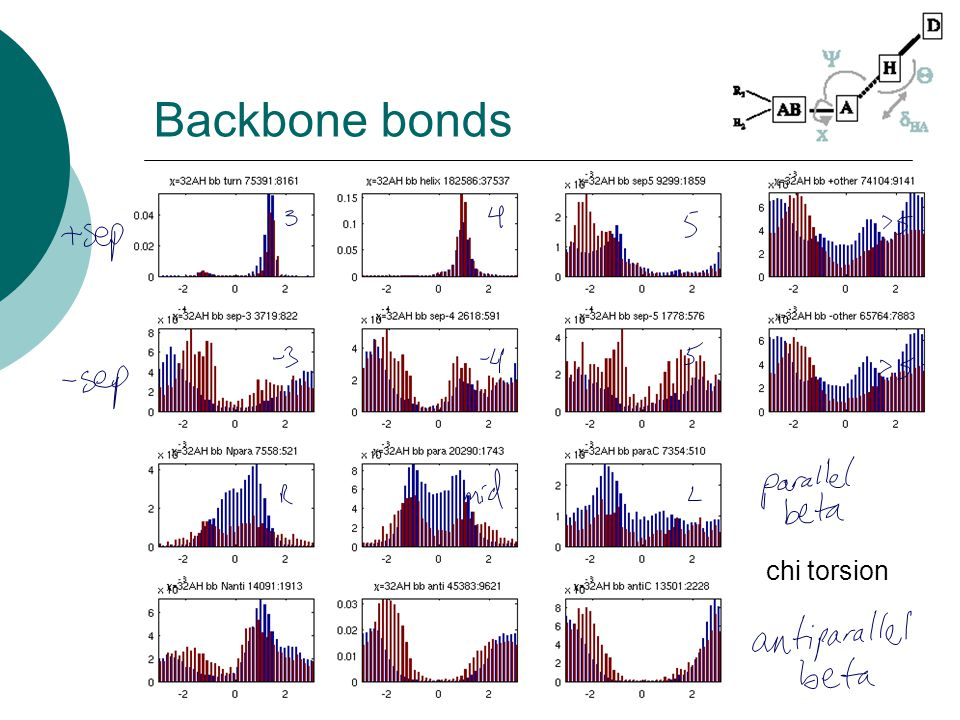 Backbone bonds chi torsion