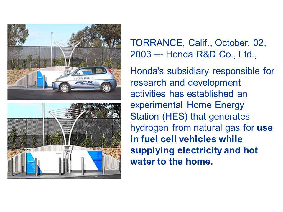 TORRANCE, Calif., October.