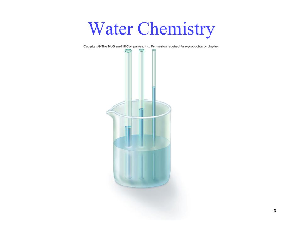 8 Water Chemistry