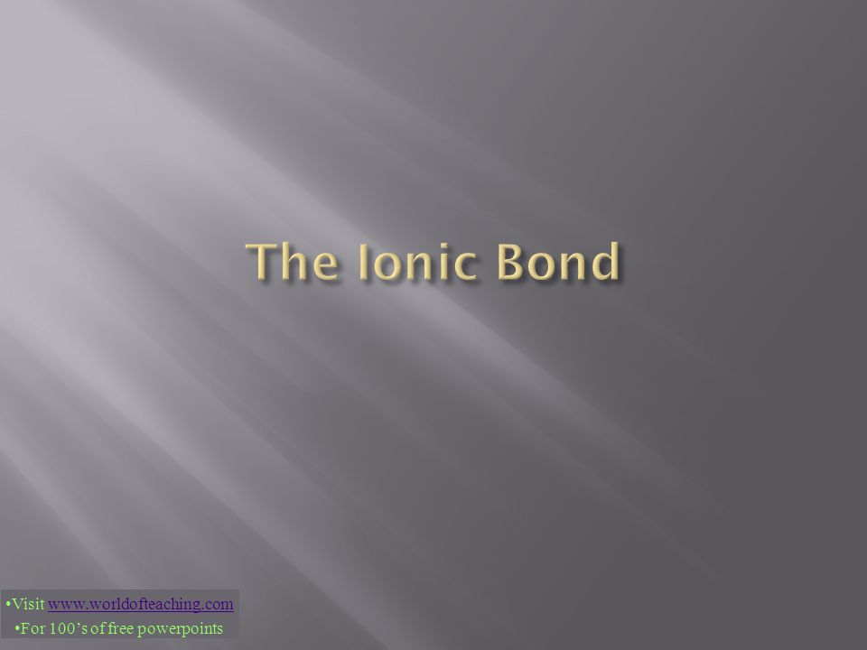  Generally chemists consider this to be the strongest of all bonds, as long as no water is present.