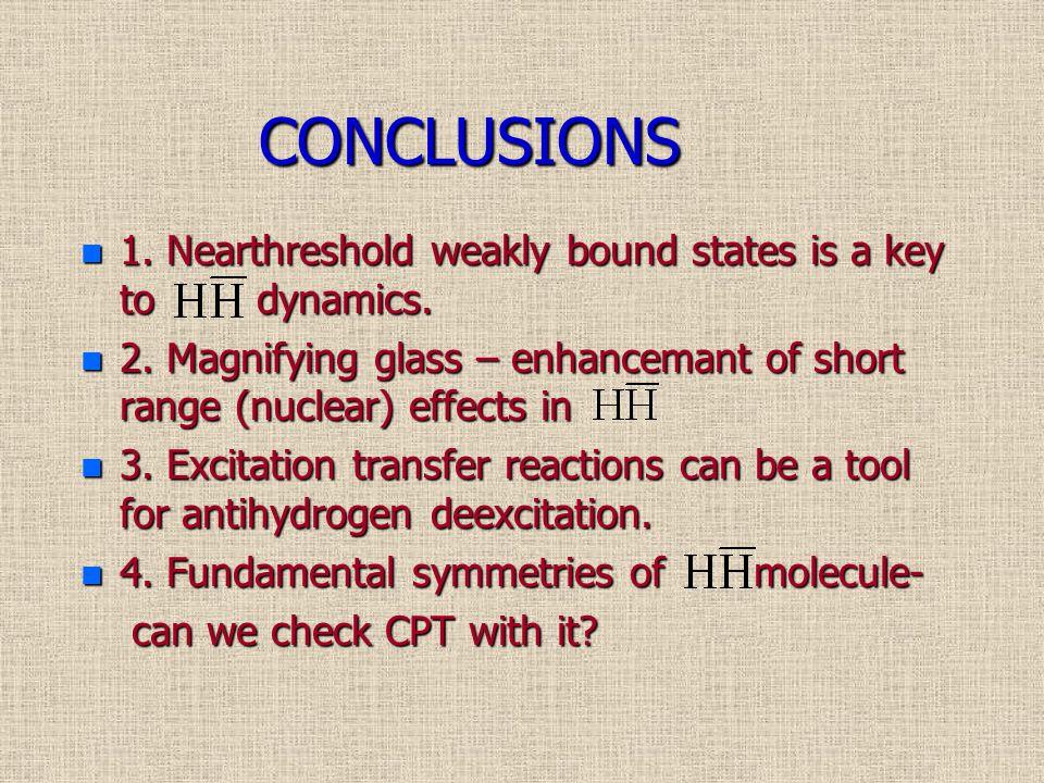 Some Refferences: 1.M.Amoretti et al. Nature 419 (2002) 456 2.G.