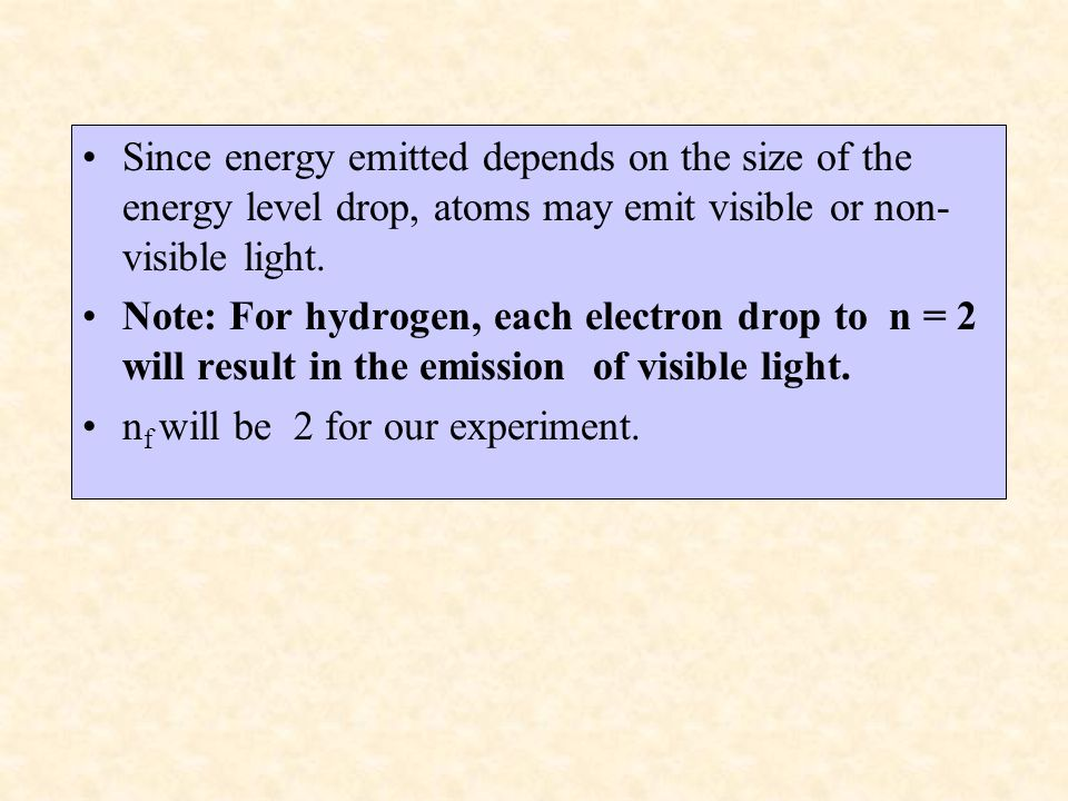 The energy evolved (absorbed or emitted) from an electrons transition is called a photon (discrete packet of energy).
