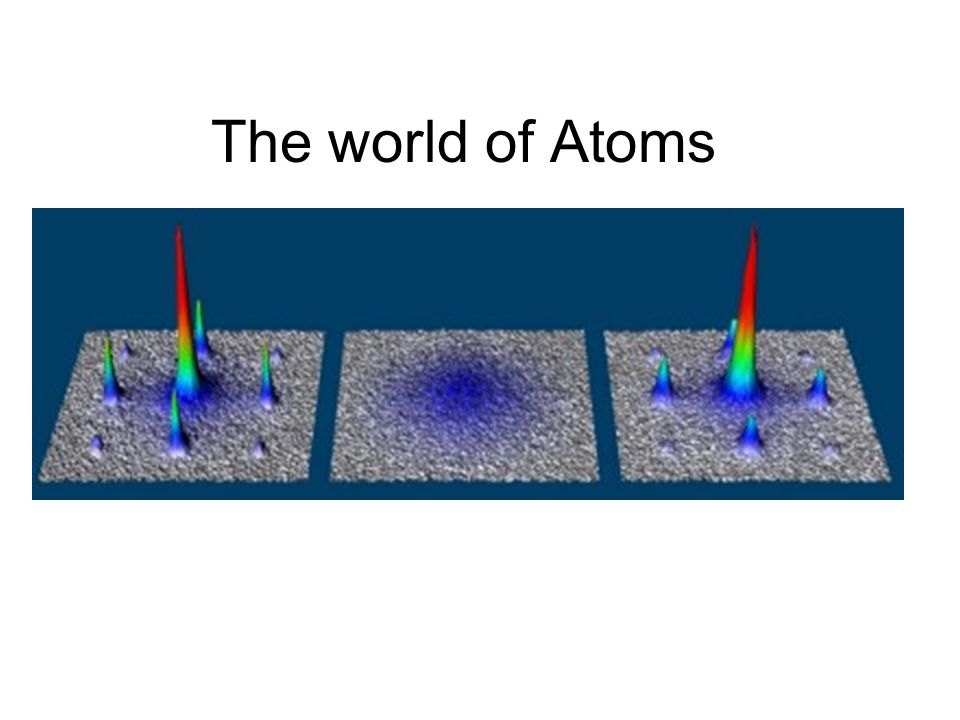 The world of Atoms
