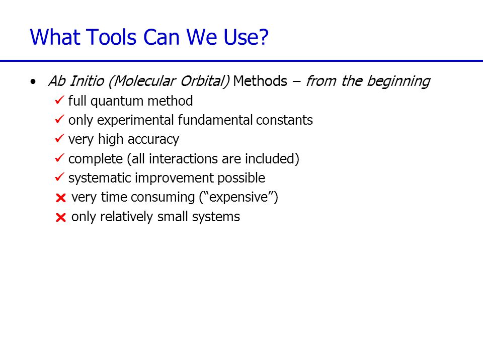 What Tools Can We Use.