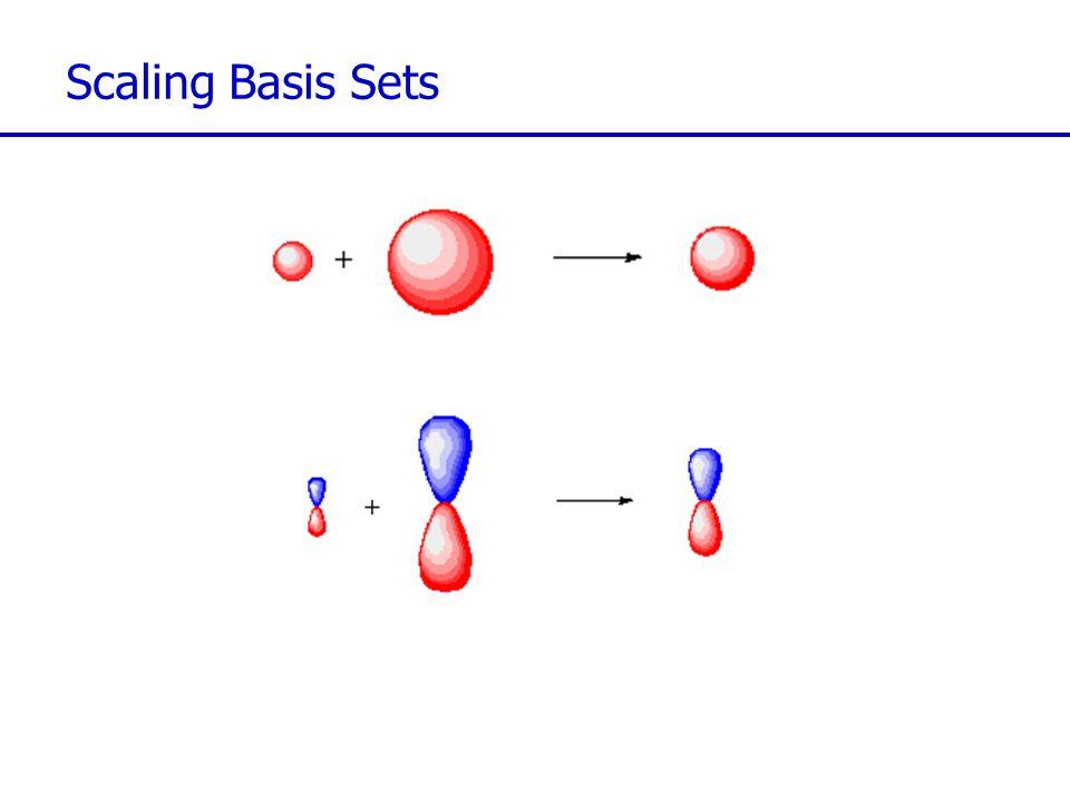 Scaling Basis Sets