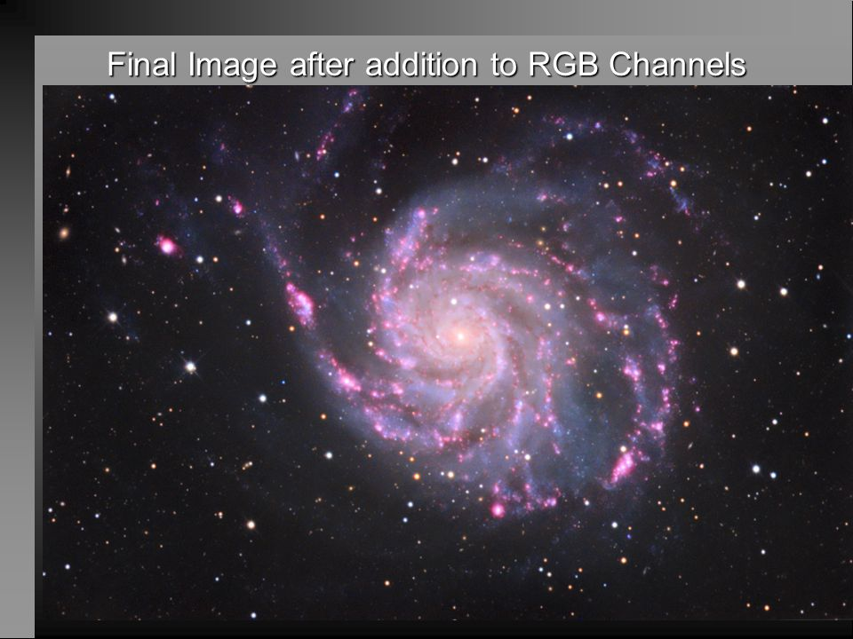 Final Image after addition to RGB Channels