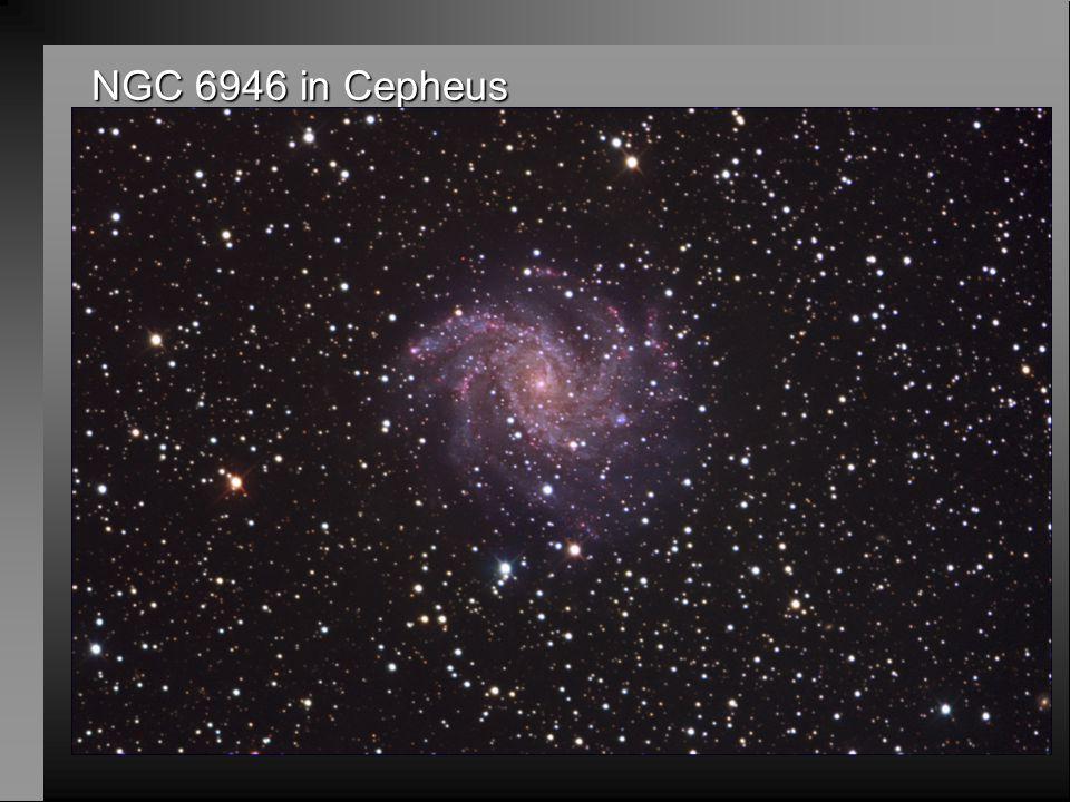 NGC 6946 in Cepheus