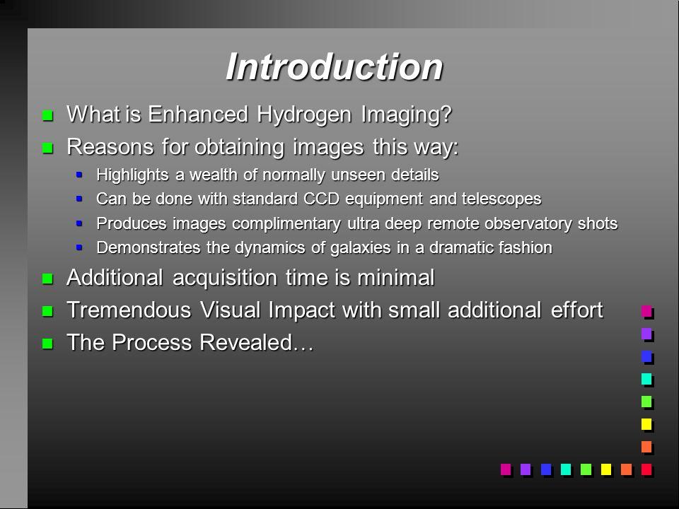 Raw Hydrogen Data 4h