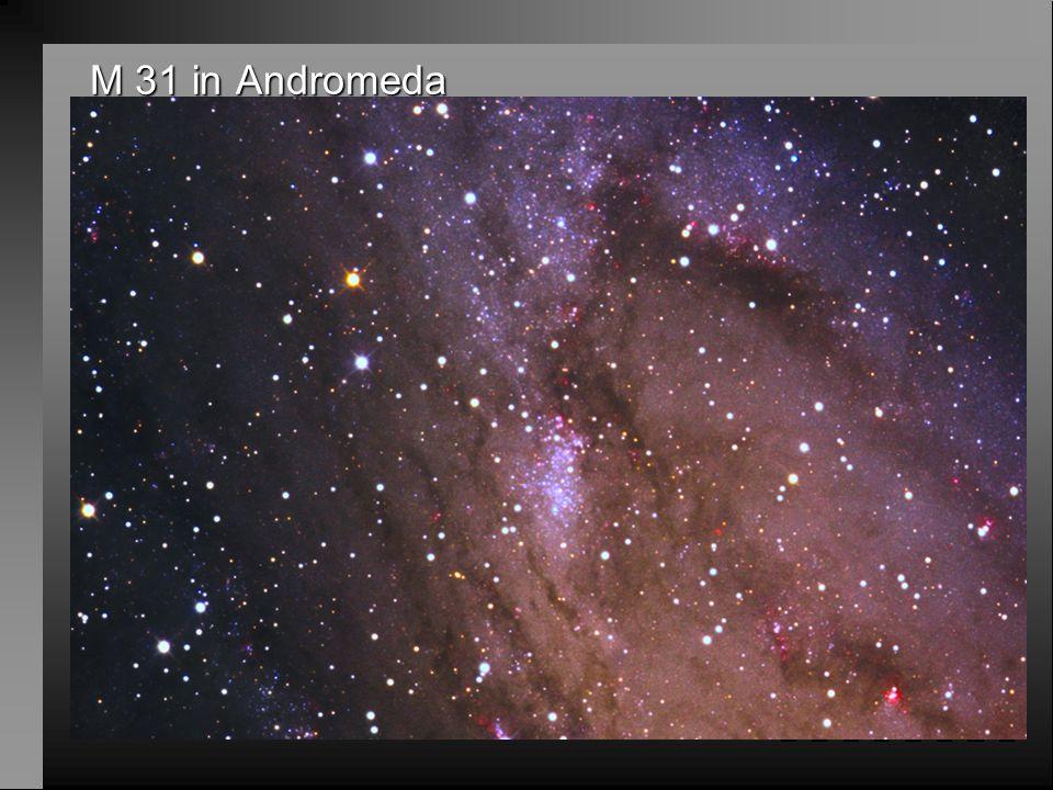 M 31 in Andromeda