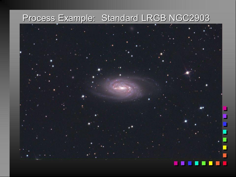 Process Example: Standard LRGB NGC2903