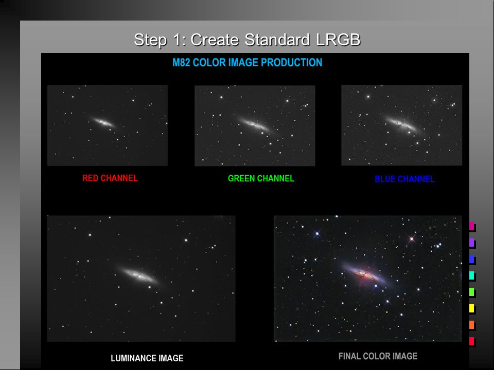Differentiation of Stars from Nebula