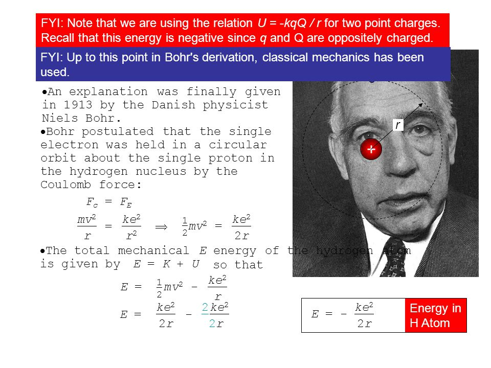  In fact, Balmer found an empirical formula that predicted the allowed spectral wavelengths for the Balmer series of the hydrogen atom: Topic 7.1 Extended C – The Bohr theory of the hydrogen atom 1 Balmer Series = R n21n2 for n = 3,4,5,...