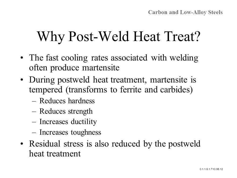 Why Post-Weld Heat Treat.