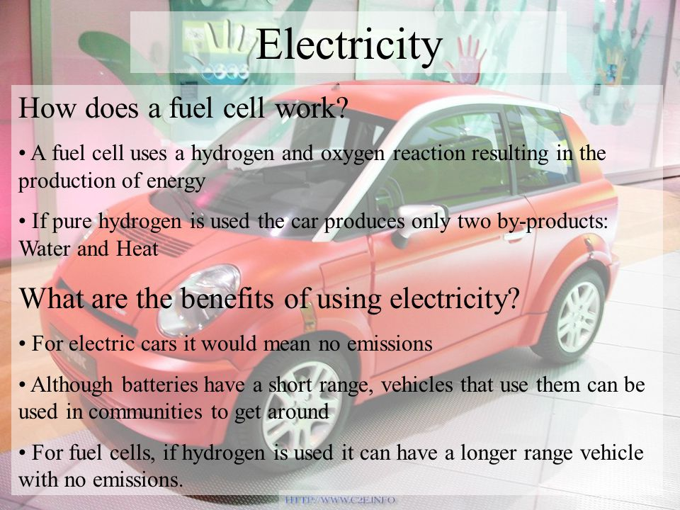How does a fuel cell work.