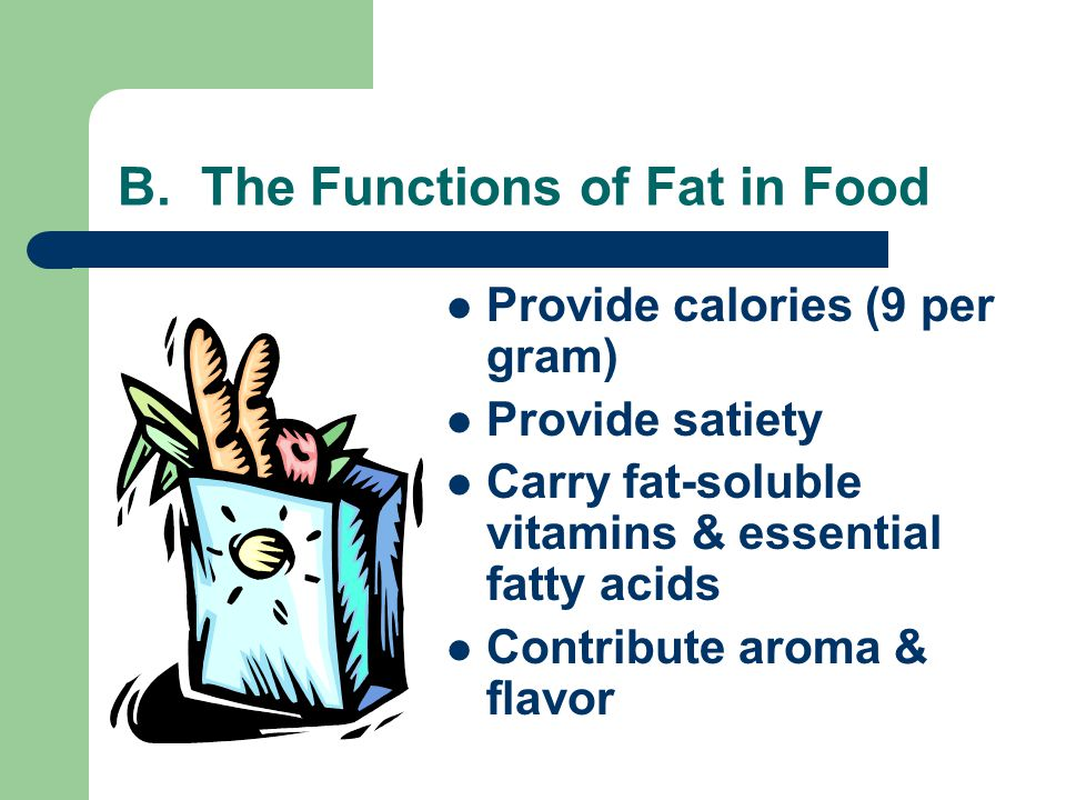 C. At the Grocery Store Read labels to determine both the amounts & types of fat contained in foods