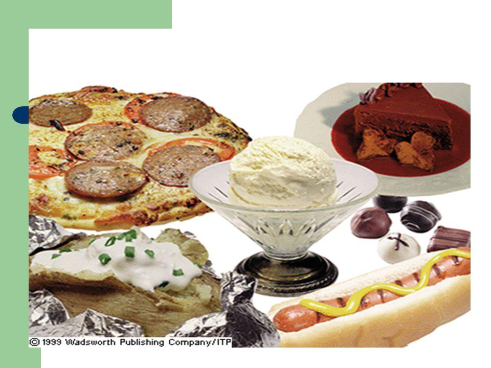 III.Characteristics of Fats in Foods A.