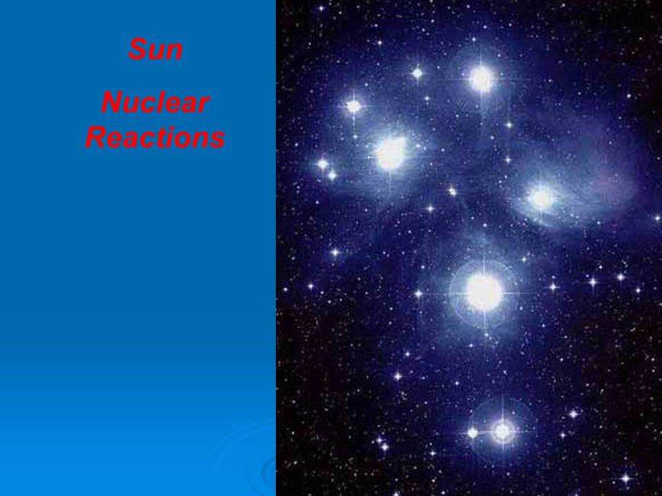 Sun Nuclear Reactions