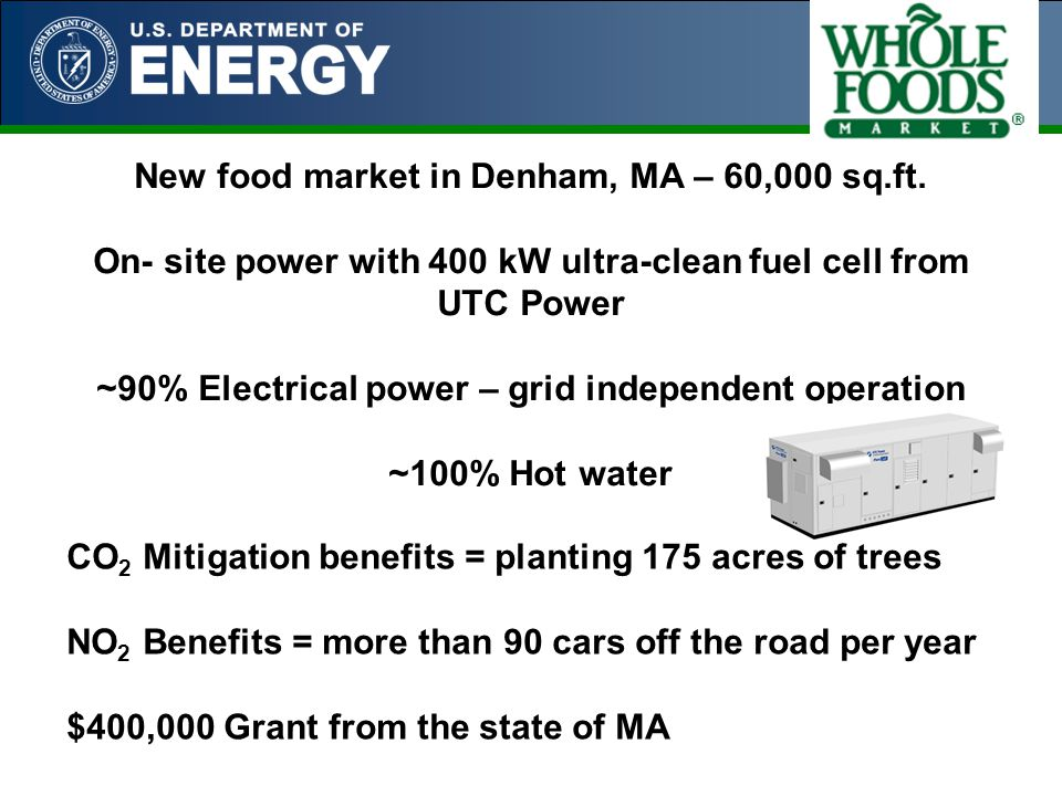 New food market in Denham, MA – 60,000 sq.ft.