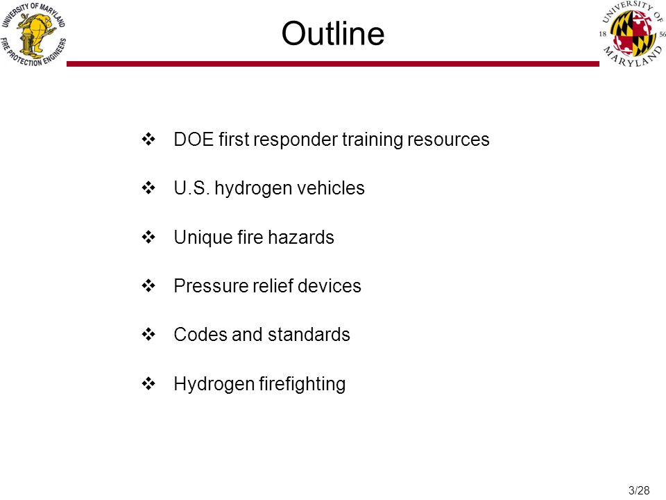 3/28 Outline  DOE first responder training resources  U.S.