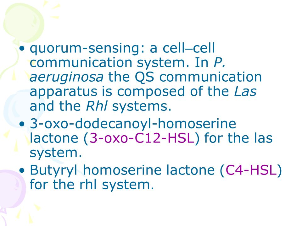 quorum-sensing: a cell – cell communication system.