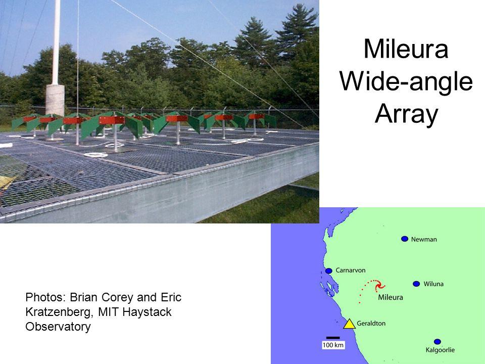 Mileura Wide-angle Array Photos: Brian Corey and Eric Kratzenberg, MIT Haystack Observatory