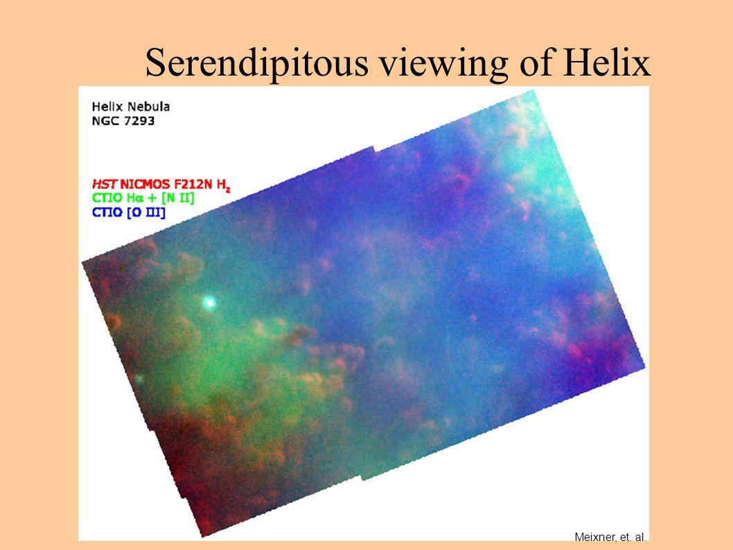 Serendipitous viewing of Helix Meixner, et. al.