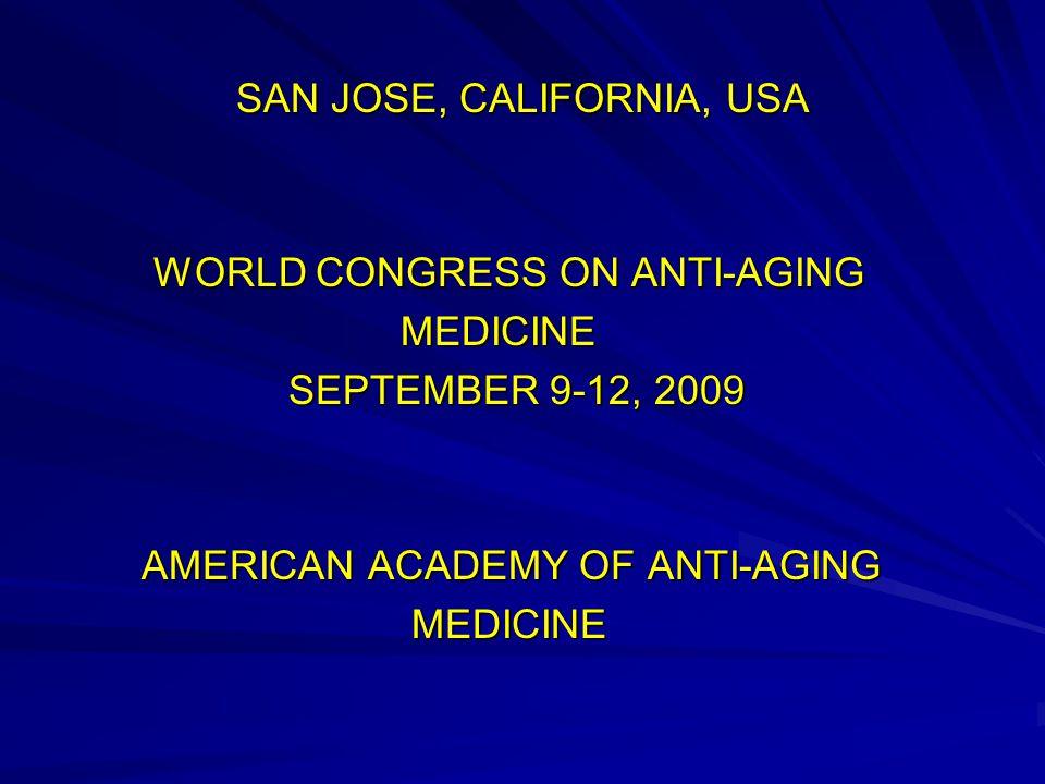 PHOTONS FOR ANTI AGING PHOTONS FOR ANTI AGING WORLD CONGRESS ON ANTI-AGING MEDICINE, SAN JOSE SEPTEMBER 9-12, 2009 WORLD CONGRESS ON ANTI-AGING MEDICINE, SAN JOSE SEPTEMBER 9-12, 2009 WOLF-DIETER KESSLER MD, PhD WOLF-DIETER KESSLER MD, PhD