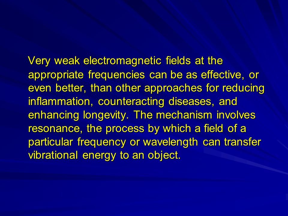 We excite them by specific resonance We excite them by specific resonance frequencies frequencies