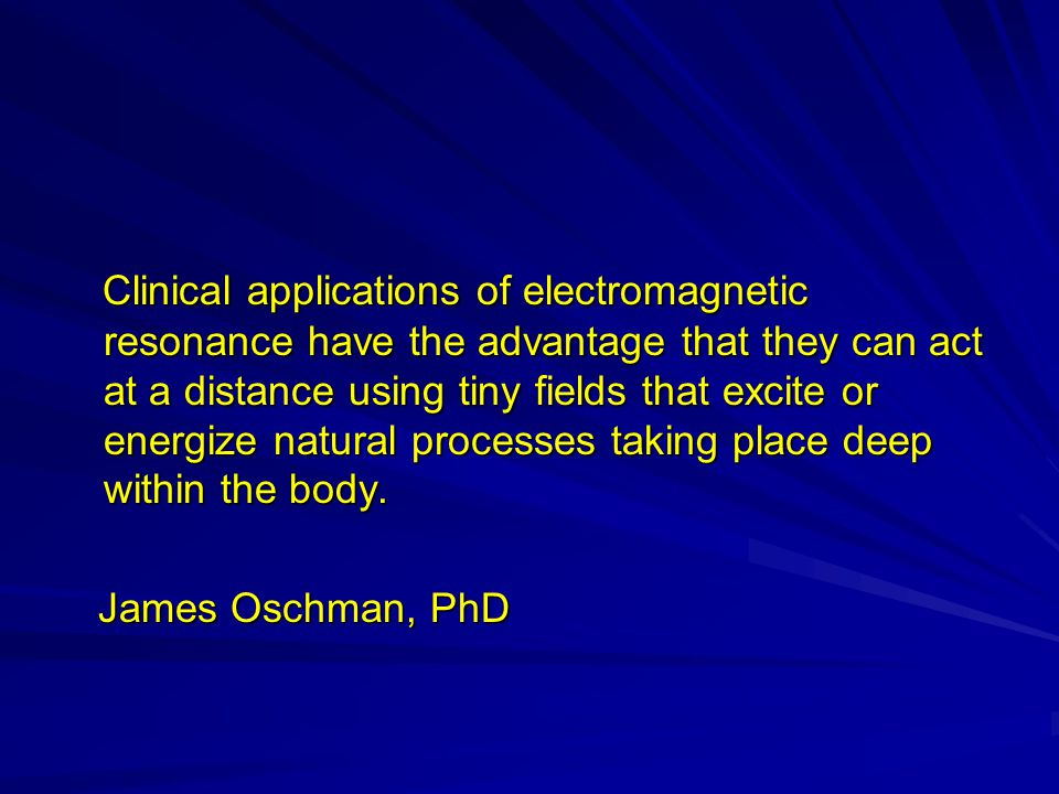 Specific Pulsing Electromagnetic Fields Specific Pulsing Electromagnetic Fields (SPEMF) adjust treatment to the individual patient and the process can take place in the Main Focus Area (SPEMF) adjust treatment to the individual patient and the process can take place in the Main Focus Area