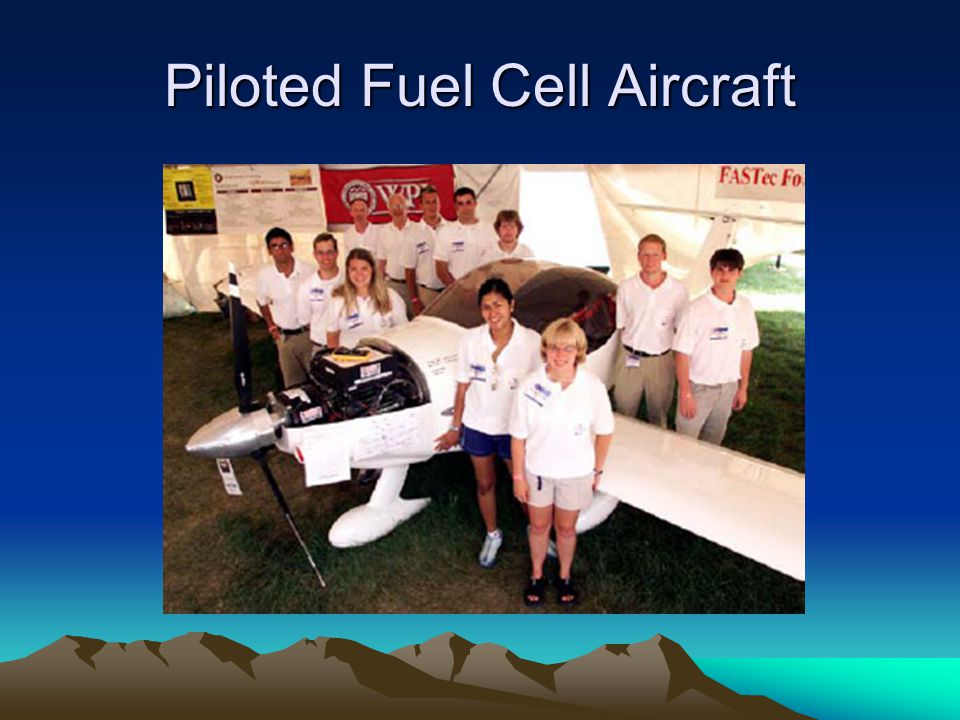 Piloted Fuel Cell Aircraft