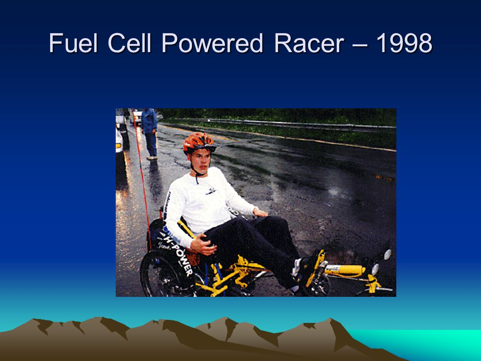 Fuel Cell Powered Racer – 1998
