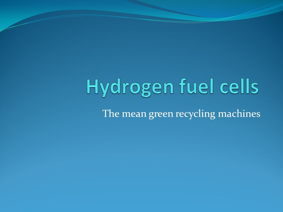 contents How does a hydrogen fuel cell work .