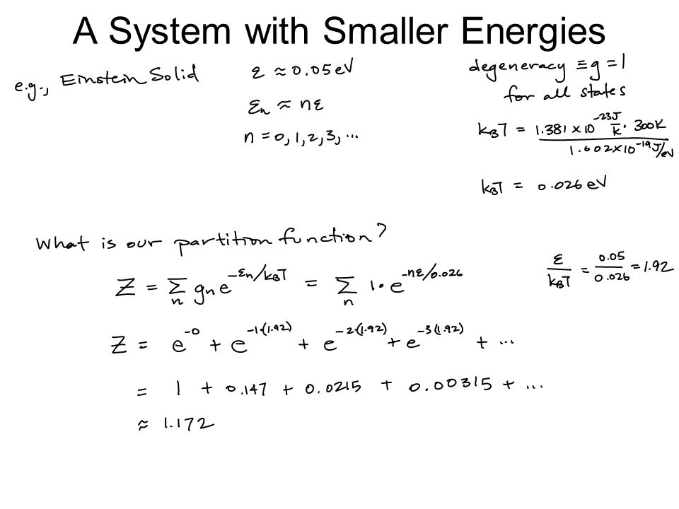 A System with Smaller Energies