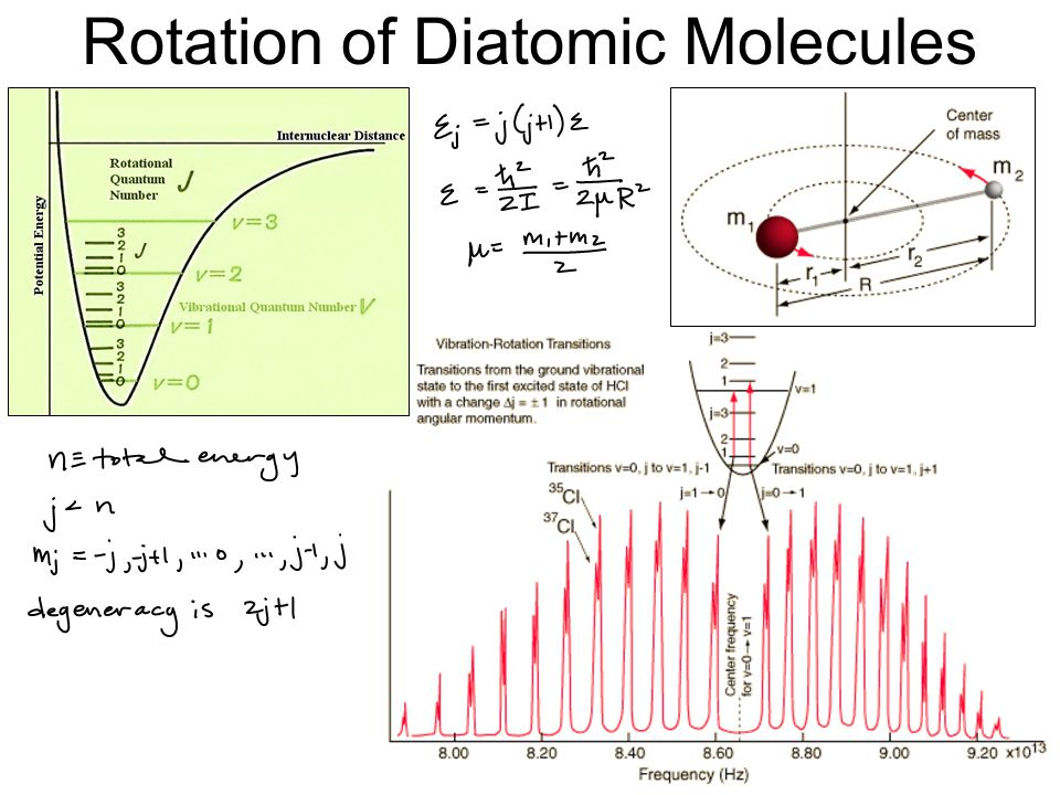 Rotation of Diatomic Molecules