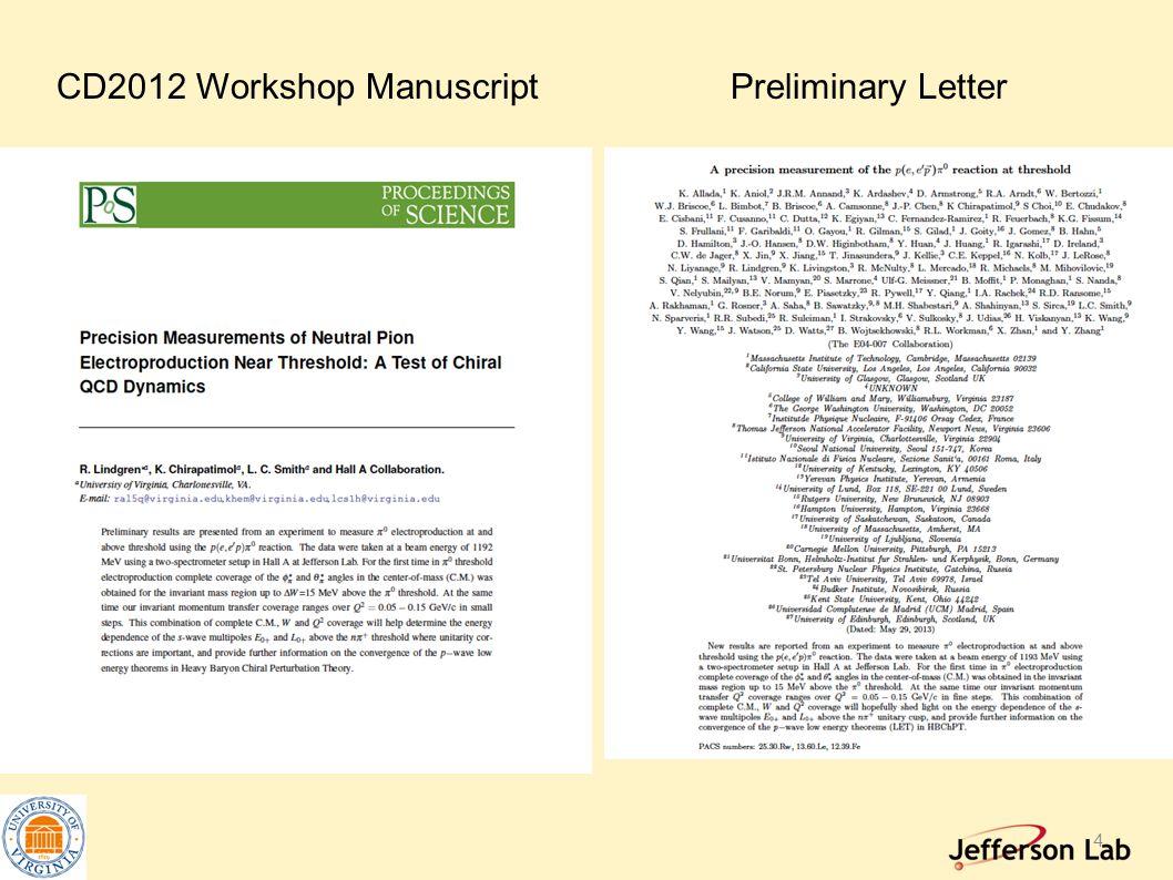 4 CD2012 Workshop ManuscriptPreliminary Letter