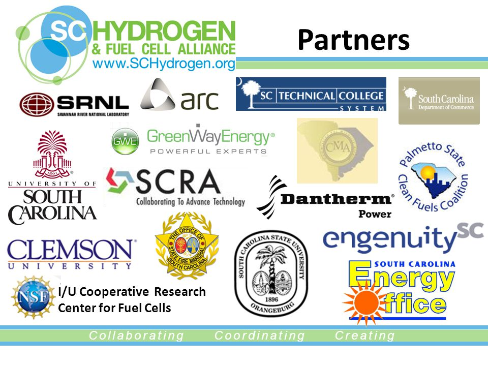 Collaborating Coordinating Creating Partners I/U Cooperative Research Center for Fuel Cells