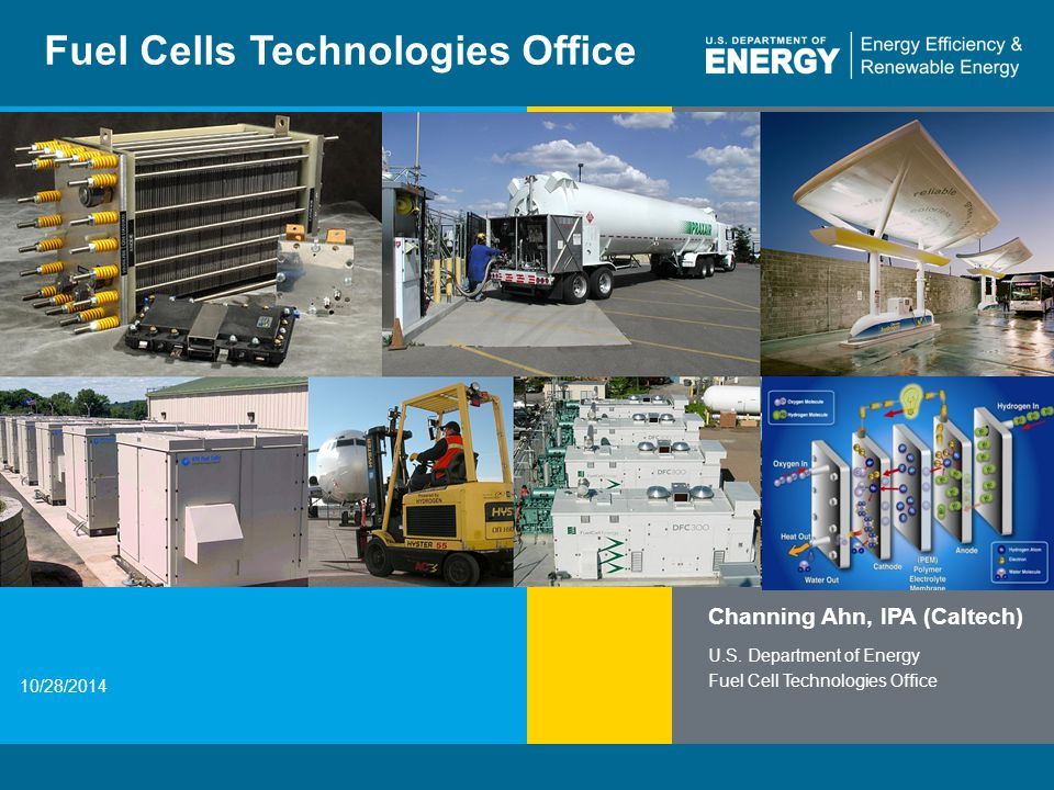 2 | Fuel Cell Technologies Officeeere.energy.gov DOE Hydrogen and Fuel Cells Program Integrated and structured effort to address all the key challenges and obstacles facing widespread commercialization of hydrogen and fuel cells in a wide range of applications 2020 Targets by Application *For Natural Gas **For Biogas H 2 Storage Cost (700-bar tank) Fuel Cell Cost and Durability H 2 Cost (delivered and dispensed at pump) $40/kW 5,000 hrs80,000 hrs $1,000/kW* $1,500/kW** <$ 4/gge $ 10/kWh