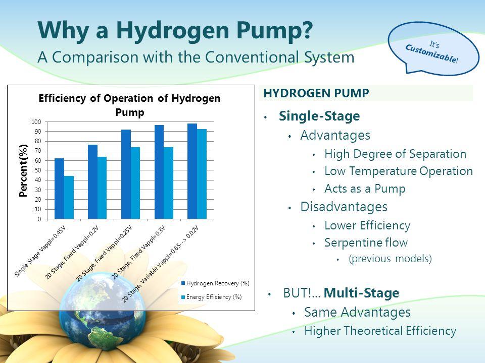 Assembly of a Hydrogen Pump Brief Procedure