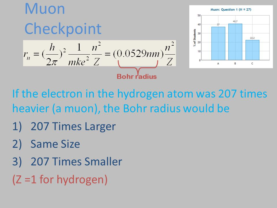 Bohr's Theory & Heisenberg Uncertainty Principle Checkpoints So what keeps the electron from sticking to the nucleus.