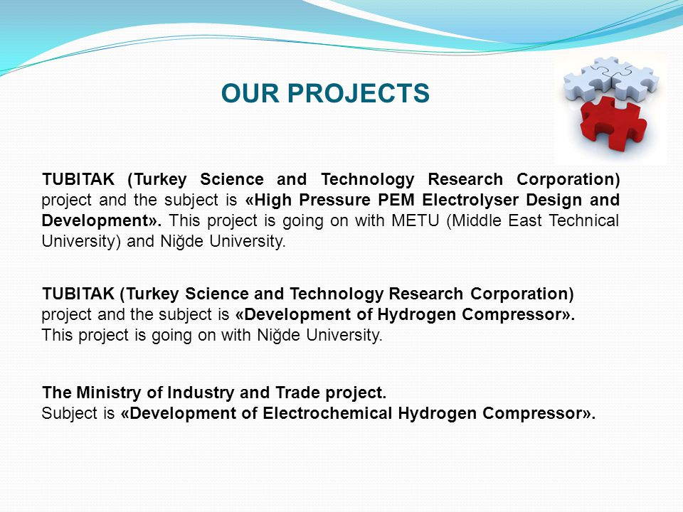 The Ministry of Industry and Trade project.