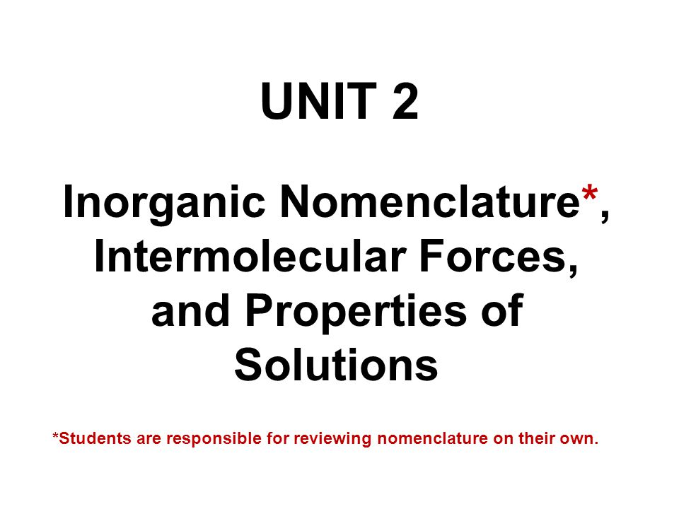Attention Chem 1215 Students: Part of your nomenclature requirement is to know the correct chemical name and formula of every chemical you use in the lab!