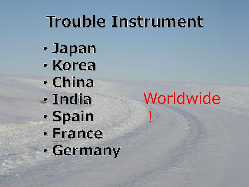 Worldwide !