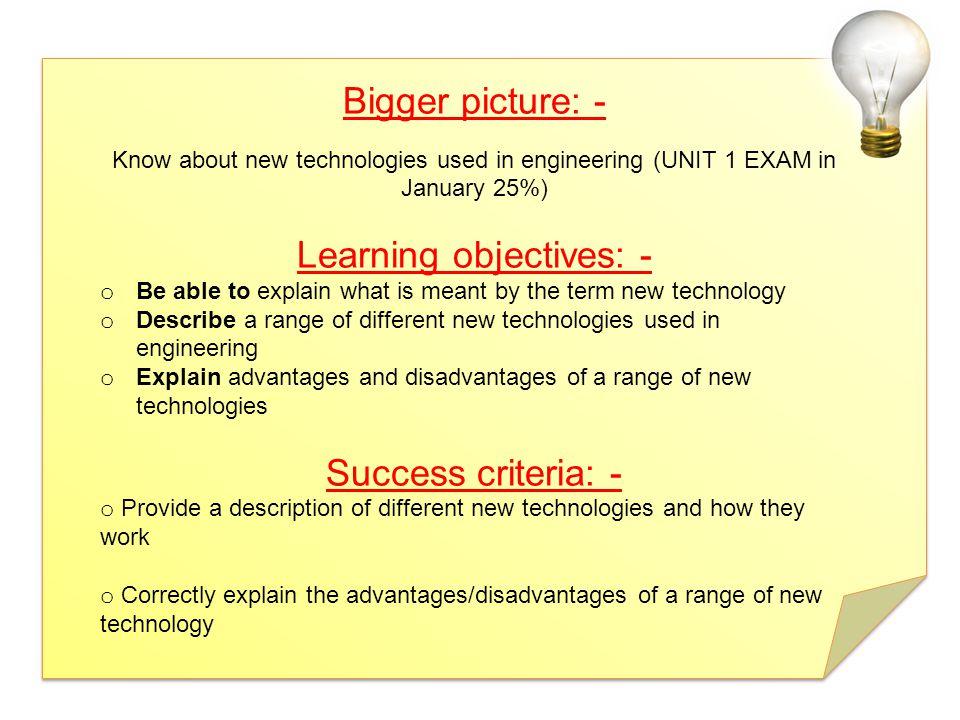 BTEC First Engineering Unit 1: The Engineered World © Pearson Education Ltd 2012.