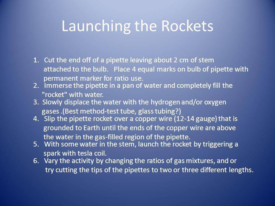 Launching the Rockets 1.