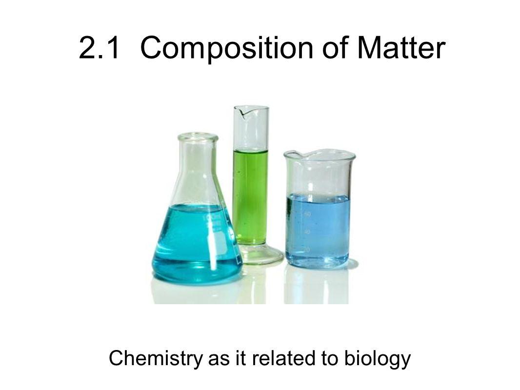 A. Matter What is matter?