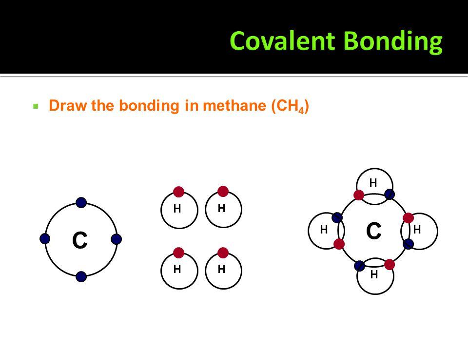  Draw the bonding in ammonia (NH 3 ) N H H H N H HH