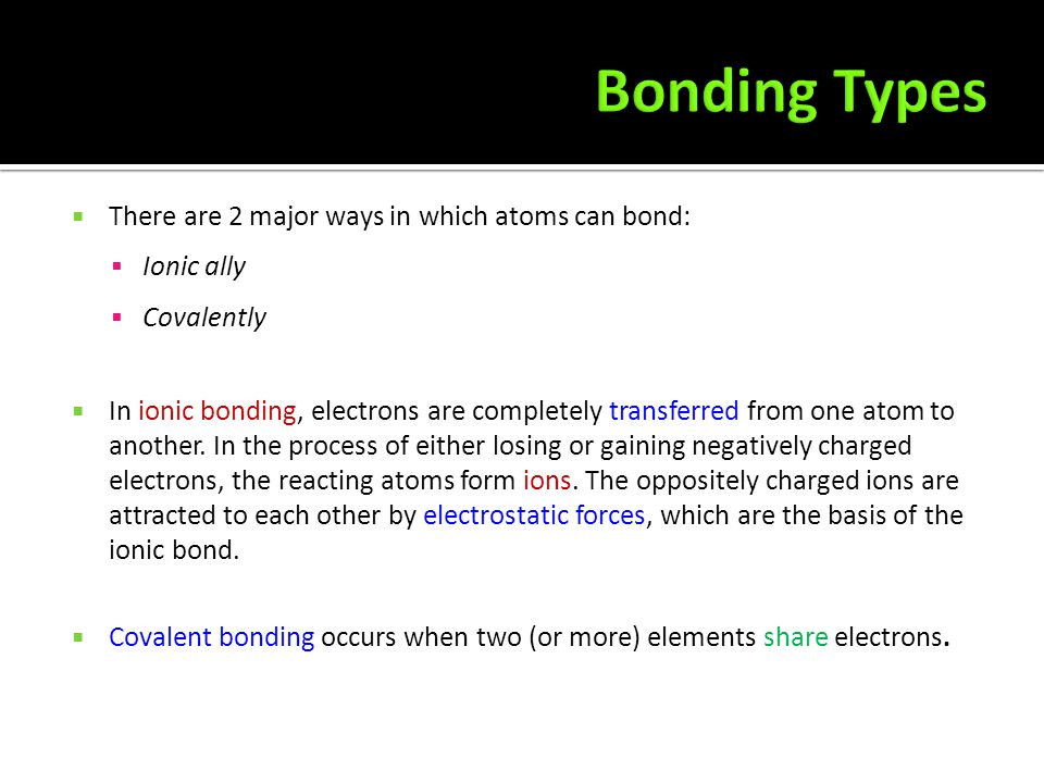  The physical properties of a substance depend on its structure and type of bonding present. Bonding determines the type of structure.  CHEMICAL str