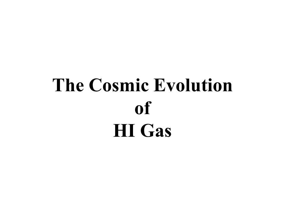 The Cosmic Evolution of HI Gas